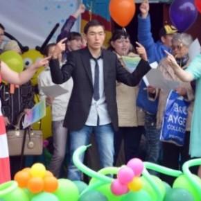 Фестиваль творчества людей с ограниченными возможностями- провели гражданские активисты (Казахстан)