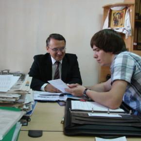 Встреча с председателем Крымской автономно- республиканской организации УТОГ