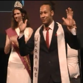 Осман Охоцкий Первый Вице-Мистер Deaf International 2013