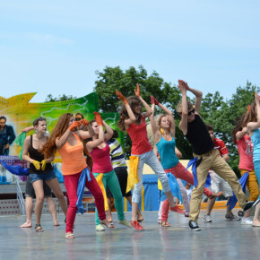 flash mob в день молодежи (видеоклип)