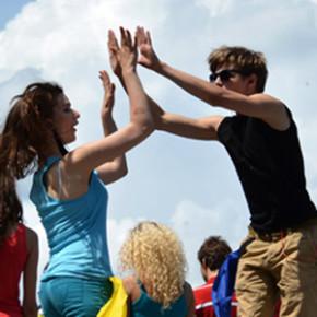 flash mob в день молодежи (фото)