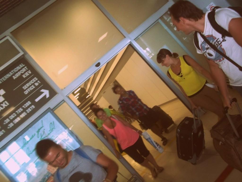 встреча в аэропорту 1