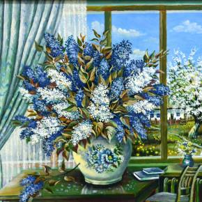 Выставка изобразительного и декоративно-прикладного искусства «Весенние краски Киевщины»
