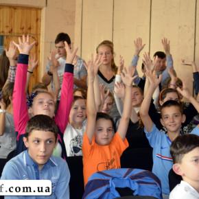 Вистава «РЕЙС 13-13» в Київській спеціальній школі-інтернаті № 9 (фото)
