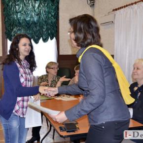 Відкритий урок школи жестової мови, група ГРУПА 1Ж-15 #фото