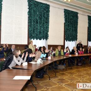 Відкритий урок в школі жестової мови 19-11-16 #фото