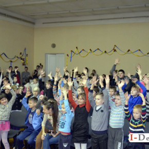 "Театр ""Райдуга"" в СЗШІ 18 #фото"