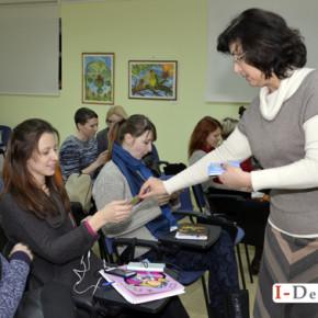 Початок занять з вивчення Жестової мови в музеї Шевченка #фото