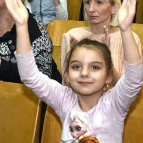 """Театр """"Райдуга"""" в гостях у школярів. #фото"""