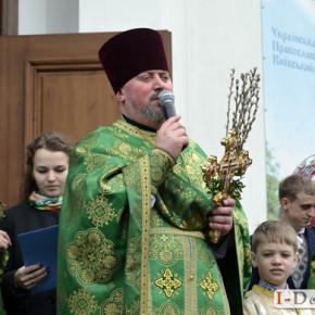 Вербна неділя у Свято- Миколаївському храмі на Татарці #фото