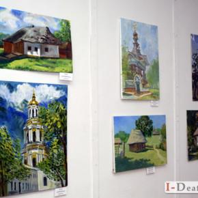 Відкриття виставки робіт учасників ХVI Міжнародного Пленеру нечуючих художників «R+Я» «Київські каштани» #фото
