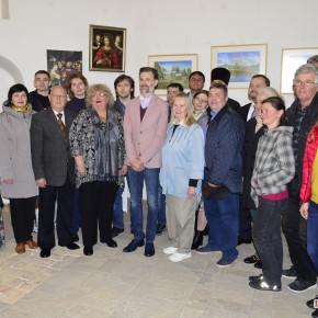 Відкриття виставки робіт нечуючих художників - «ВІДГОМІН ТИШІ» (фото)