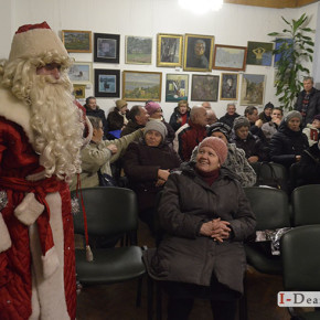 «Із неба в український край іде зимовий Миколай». (фото)