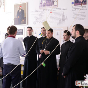 Зустріч зі студентами та викладачами Київської православної богословської академії (Фото)
