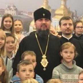 Відкриття групи для нечуючих діток в недільній школі «Чадо» при Свято-Михайлівському Золотоверхому монастирі