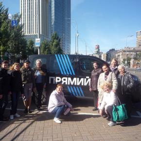 Екскурсія на телеканал «ПРЯМИЙ» фото