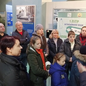 Екскурсія до музею води 19 січня 2020 року - фото