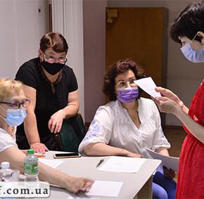 Іспит в школі української жестової мови 30 червня 2020. (фото)