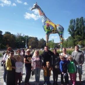 Вихідні в Київському зоопарку.